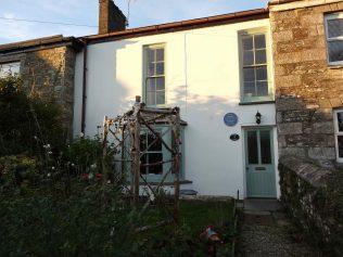 Sam Pollard's birth place in Camelford | John Pearce