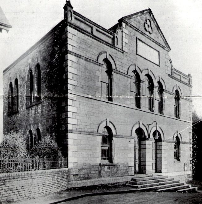 Zion Chapel St. Austell 1891 chapel. Conference was held in this building in 1893 and 1904. It closed in 1994