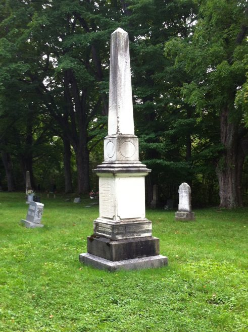 Tombstone at Canton Cemetery - Elizabeth Trick Henwood (1801-1872) | J. Bowen 8 Sep 2015