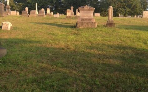 Gravesite at Grove Cemetery - Hannah Pearce Reeves (1800-1868)