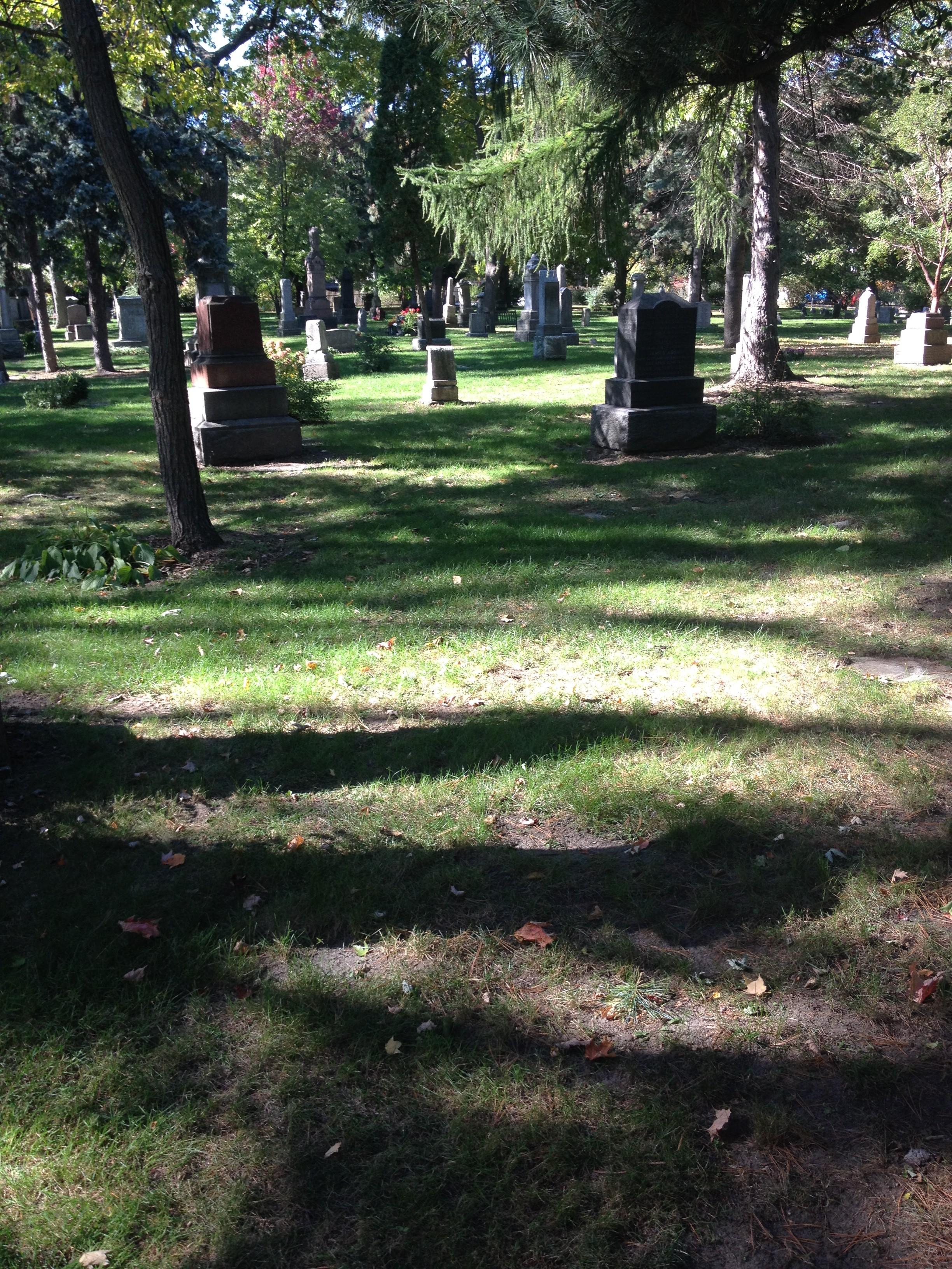 Gravesite at Toronto Necropolis - Mary Ann Soper Lyle (1796-1862)
