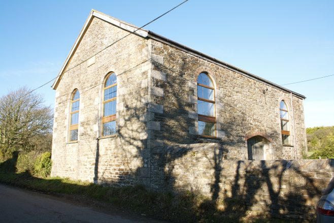 There is reference to a Bible Christian Chapel in Wheal Rose, and also a preaching house which may have preceded this this is now converted to a barn/storage facility.
