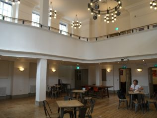 Interior of Hanbury Hall, Spitalfields