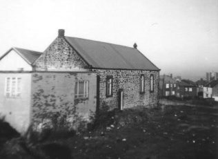 The chapel premises with later 1950s alterations | Image from the collections of the Newcastle upon Tyne District Archives