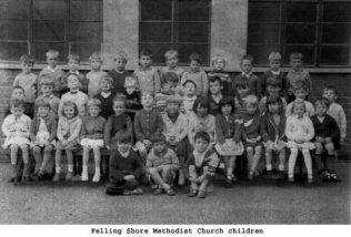Children of the Felling Shore Sunday School | Images from the collections of the Newcastle upon Tyne District Archives