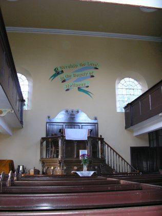 2 Dudley, Darby Hand, Netherton MNC Chapel, interior (ii), 9.10.2016