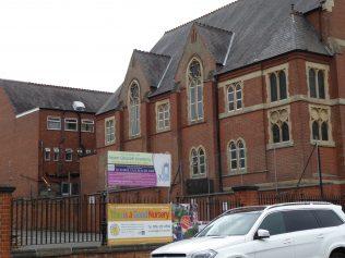 Leicester, St Paul's Methodist New Connexion Chapel, Melbourne Road 1891