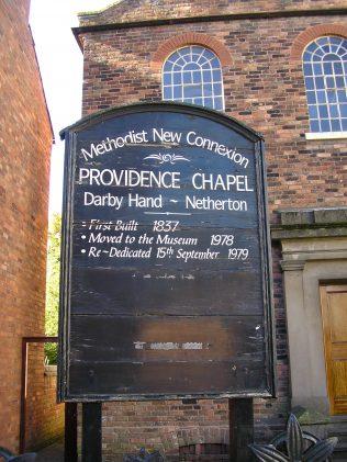 3 Dudley, Darby Hand, Netherton MNC Chapel, notice board, 9.10.2016