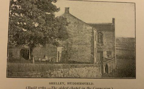 Shelly Bank Methodist New Connexion Church near Huddersfield