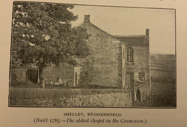 Shelley Bank Methodist New Connexion Church near Huddersfield | Steve Wild's old Methodist Postcard Album