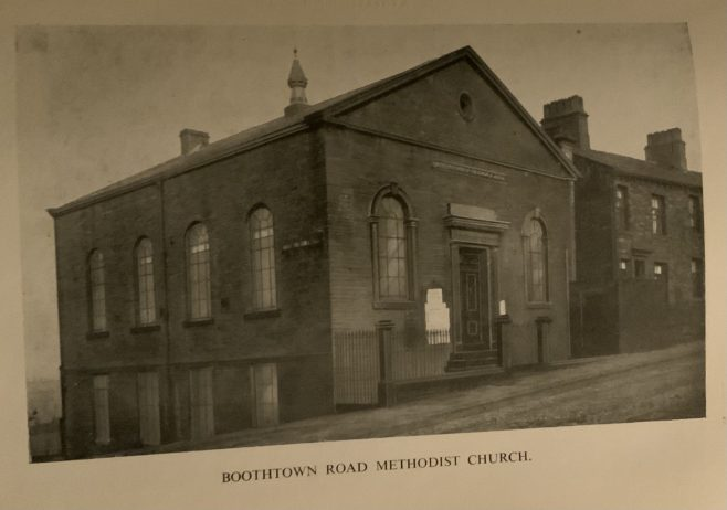 Halifax, Boothtown Road Methodist New Connexion church,