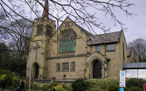 Brighouse Bethel Methodist New Connexion Chapel (now Central Methodist Church), Yorkshire