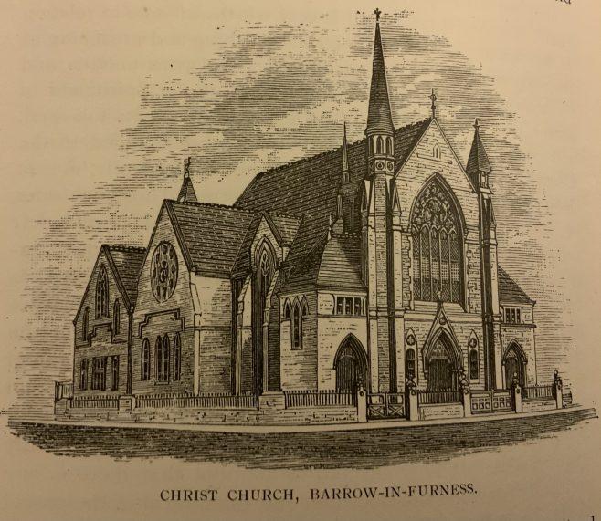 Barrow in Furness, Abbey Road, Christ Church Methodist New Connexion Chapel