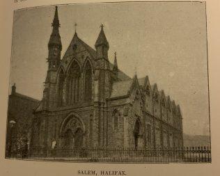 Salem Methodist New Connexion Chapel Halifax