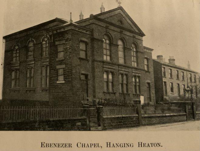 Batley, Ebenezer Methodist New Connexion Church, Hanging Heaton
