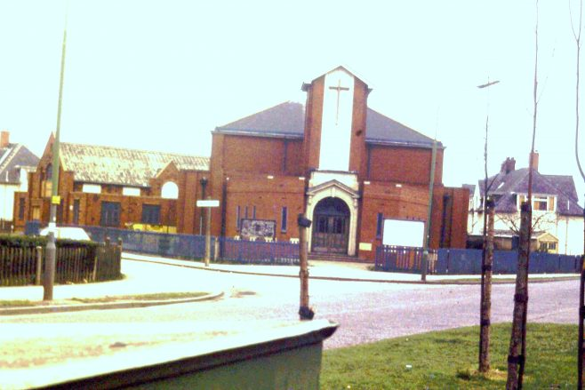 Hull, Askew Avenue  UM Chapel, 19.9.85.