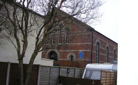 Longtown Albert Street United Methodist Free Church Chapel, Cumberland (Grid ref NY381685)
