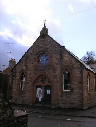 UMFC Chapel, Chapel Street, Appleby, Westmorland, facade,  27.10.2013