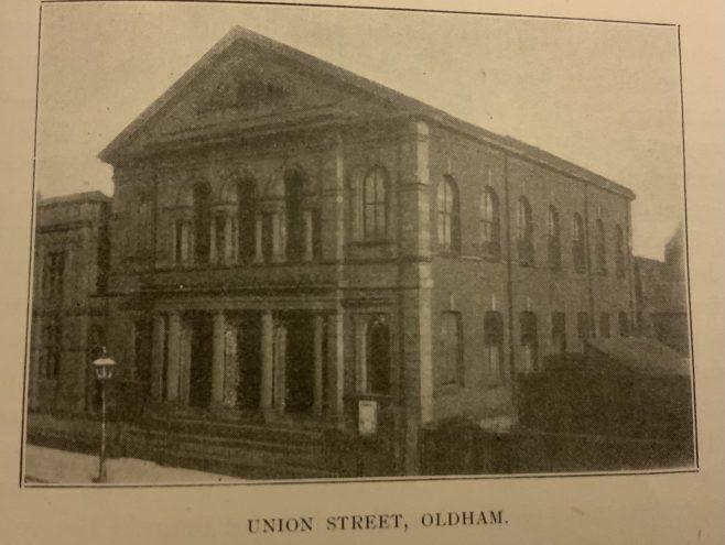 Oldham, Union Street, Ebenezer New Connexion Chapel
