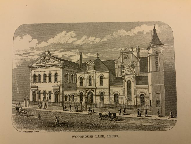 Leeds Woodhouse Lane Methodist New Connexion Church