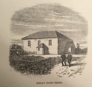 The Bible Christian chapel on Kerley Downs