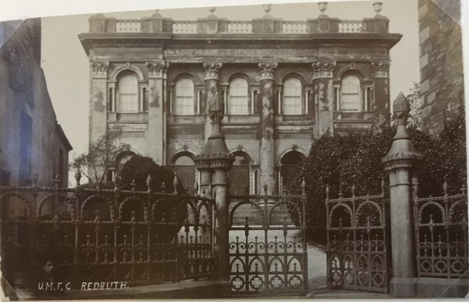 Redruth Fore Street United Methodist Free Church - the Flower Pot Chapel | Stephen Wild postcard collection