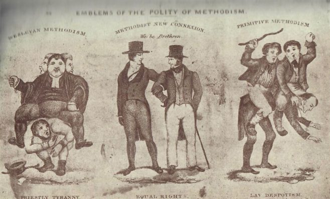 Emblems of the polity of Methodists   Pageantry of Methodist Union, p95p