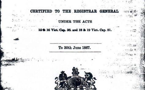 Registered Methodist chapels 1867