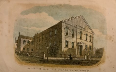 Rochdale; Baillie Street UMFC Church