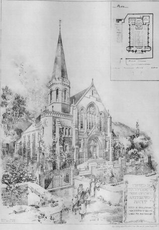 Waterside United Methodist Free Church, Bacup | The Building News, 1899