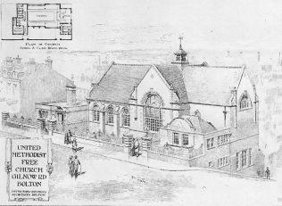 United Methodist Free Church, Gilnow Road, Bolton | The Building News, 1904
