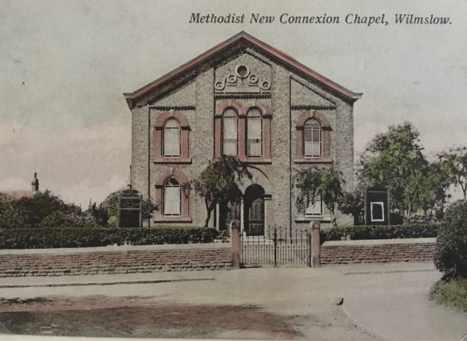 Wilmslow Methodist New Connexion, Water Lane | Steve Wild's Postcard collection