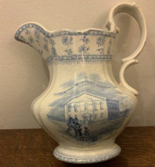 19th Century Milk Jug of Baillie Street Methodist Church Rochdale