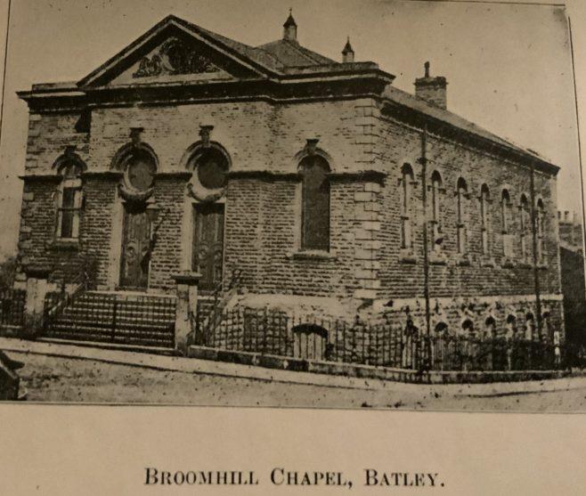 Broomhill Methodist New Connexion church, Batley Yorkshire