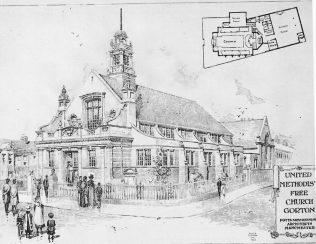 Hyde Road UMFC, Gorton   The Building News 1904