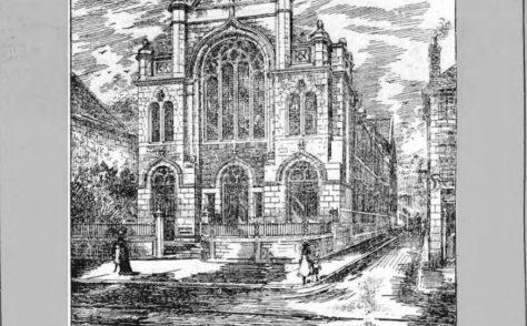 Camborne; Trelowarren Street, United Methodist Church
