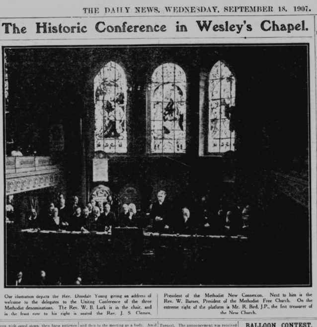 1907 Uniting Conference in session