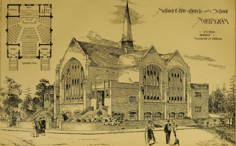 Hyson Green Methodist Free Church, Nottingham