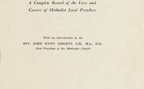 The Methodist Local Preachers' Who's Who 1934
