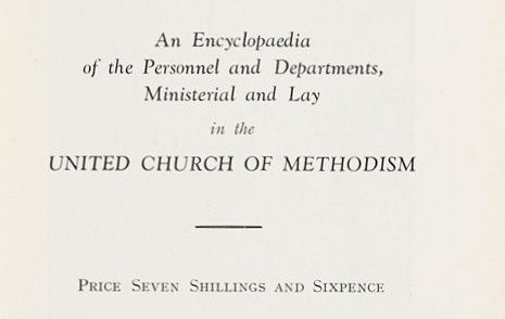 Who's Who in Methodism 1933