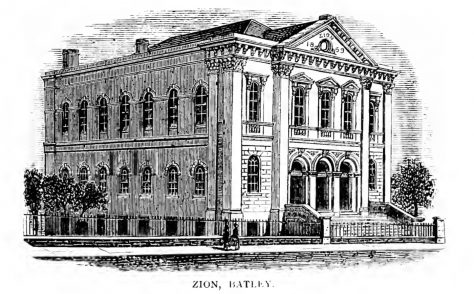 Batley, Zion Methodist New Connexion chapel