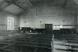 Mitchell Street United Methodist Free Church ROCHDALE Lancashire Mission interior