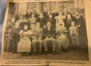 Zion Independent Methodist, Trawden Choir