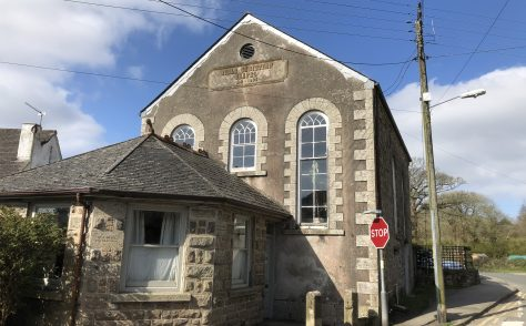 Heamoor former Bible Christian Chapel, nearPenzance, Cornwall