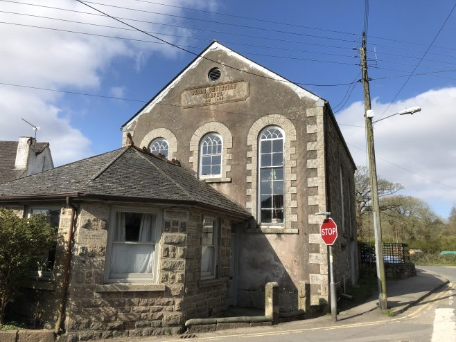 Heamoor former Bible Christian Chapel nearPenzance Cornwall