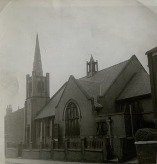 Mitchell Street Methodist Church ROCHDALE Lancashire 1960s snap