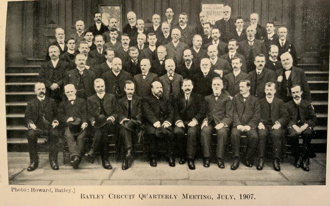 Methodist New Connexion Batley Circuit Quarterly Meeting 1907