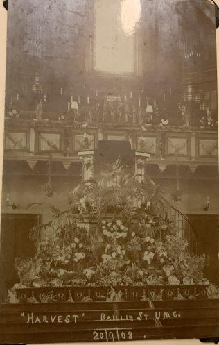Baillie Street UMC Harvest Festival 1908