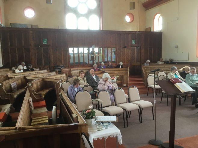 Paynter's Lane End United Methodist Church Cornwall Interior