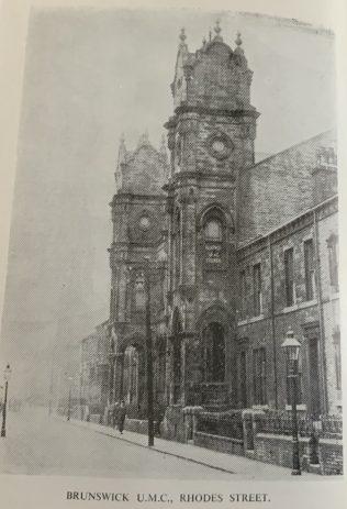 Brunswick Rhodes Street United Methodist Free Church chapel, Halifax